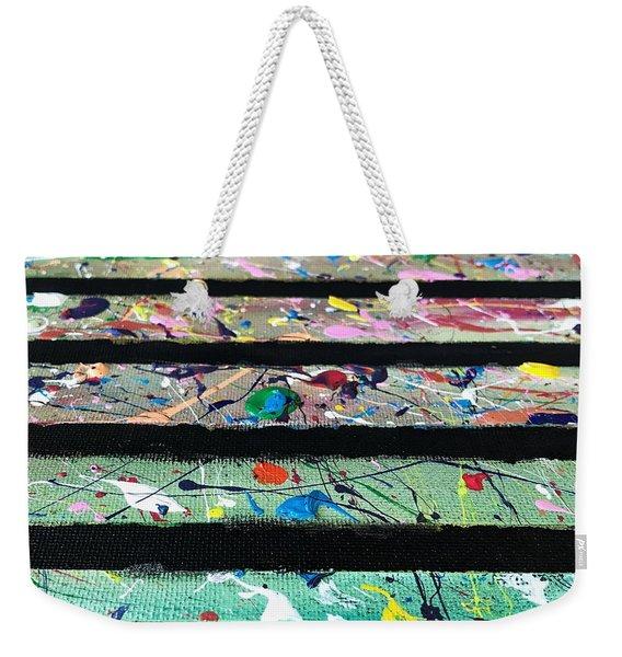 Detail Of Agoraphobia  Weekender Tote Bag