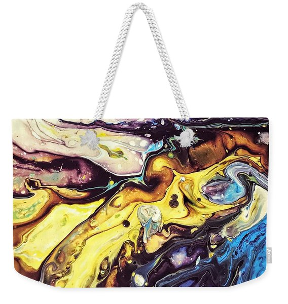 Detail Of Conjuring Weekender Tote Bag