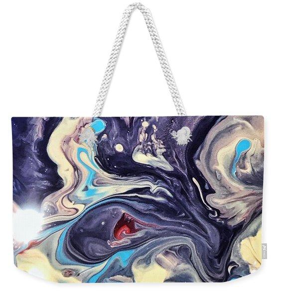 Detail Of Fluid Painting 1 Weekender Tote Bag