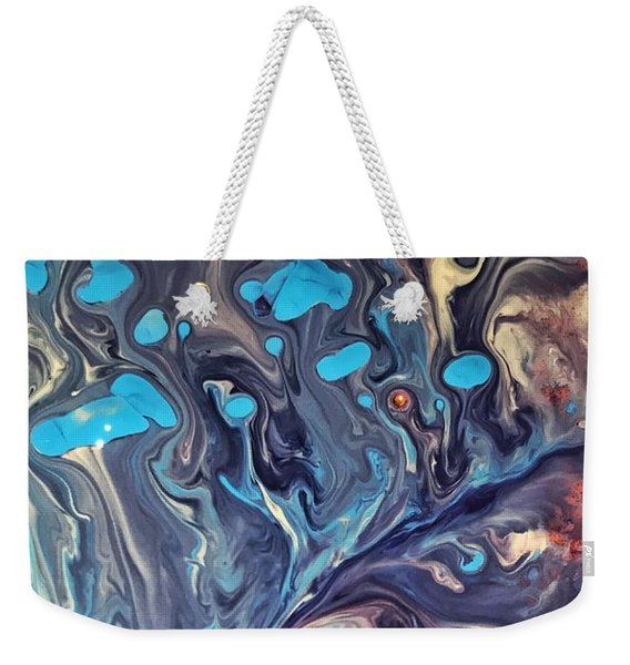 Detail Of Fluid Painting 2 Weekender Tote Bag