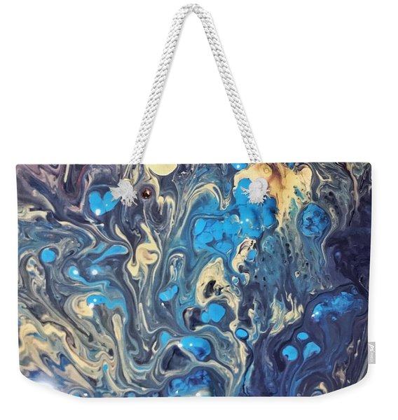 Detail Of Fluid Painting 3 Weekender Tote Bag