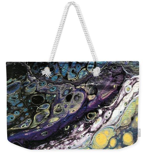 Detail Of He Likes Space 2 Weekender Tote Bag