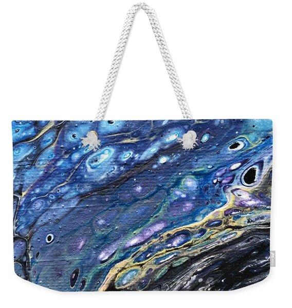 Detail Of He Likes Space 3 Weekender Tote Bag