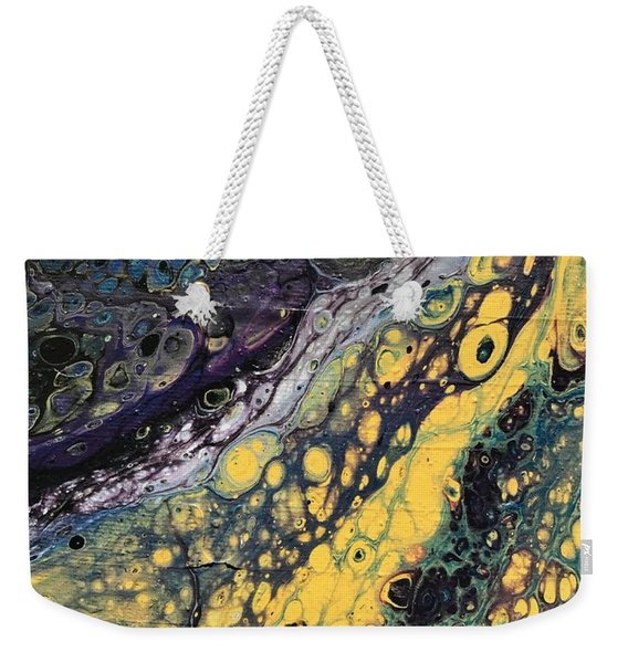 Detail Of He Likes Space 4 Weekender Tote Bag