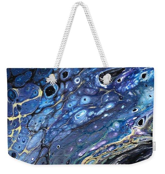 Detail Of He Likes Space 5 Weekender Tote Bag