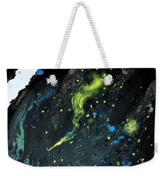 Detail Of Mixed Media Painting 2 Weekender Tote Bag