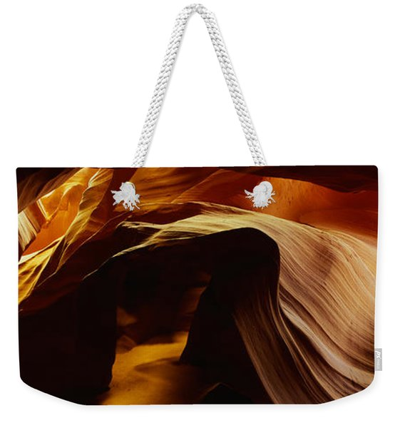 Detail Of Sandstone From Antelope Canyon Weekender Tote Bag