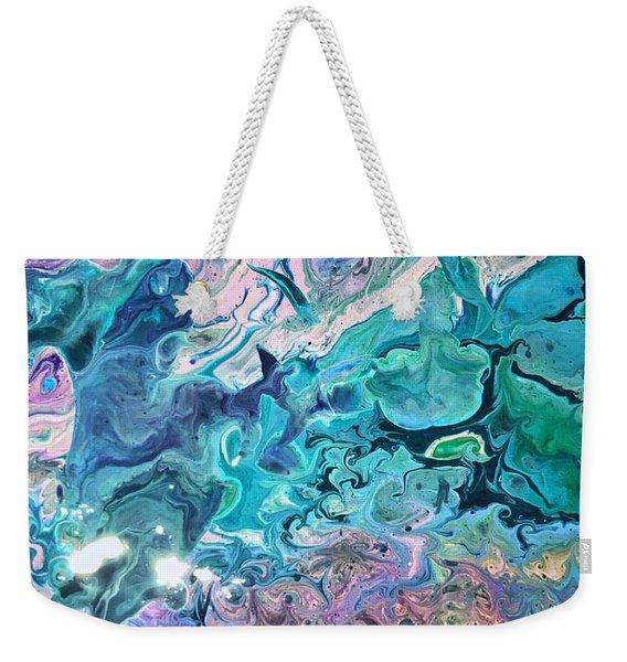 Detail Of Waves 2 Weekender Tote Bag