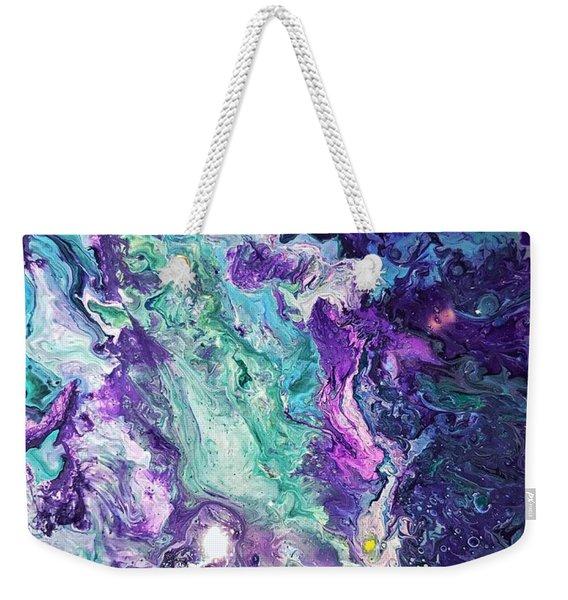 Detail Of Waves 3 Weekender Tote Bag