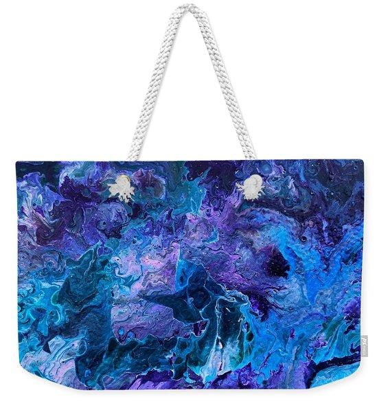 Detail Of Waves 5 Weekender Tote Bag