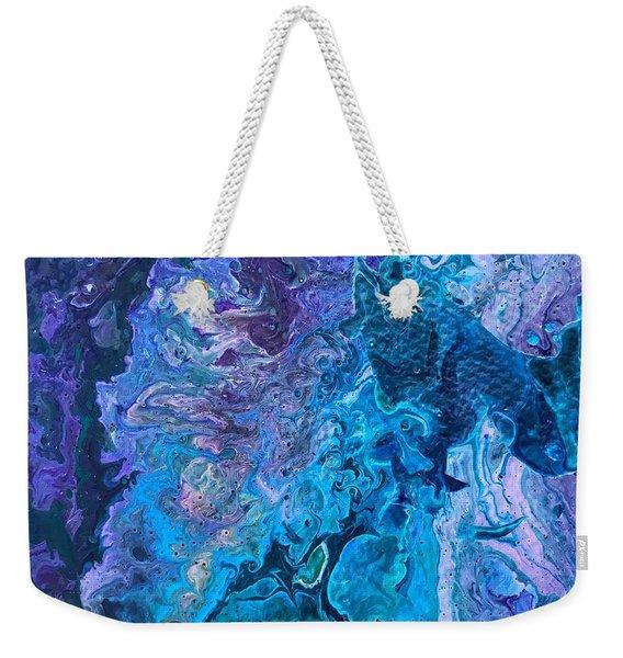 Detail Of Waves 6 Weekender Tote Bag