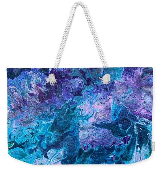 Detail Of Waves 7 Weekender Tote Bag