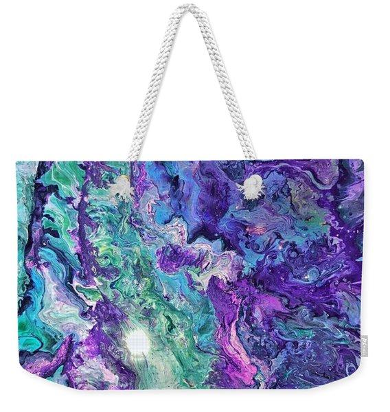 Detail Of Waves Weekender Tote Bag