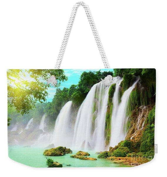 Detian Waterfall Weekender Tote Bag