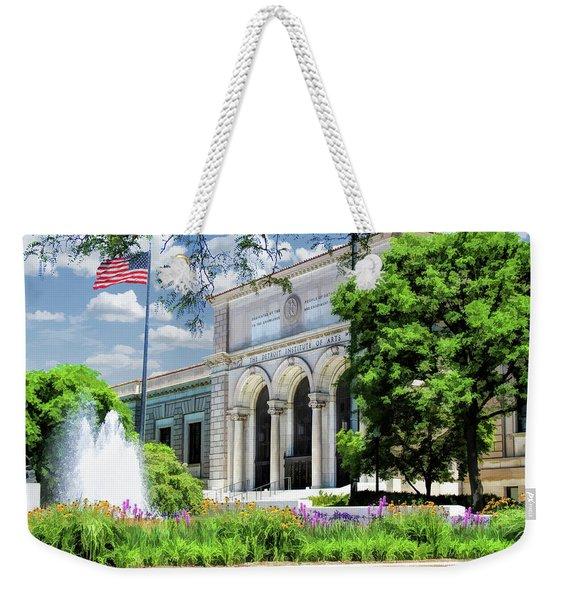 Detroit Institute Of Arts Weekender Tote Bag