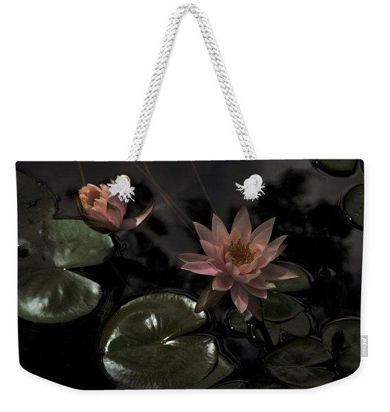 Deuces In The Moonlight Weekender Tote Bag