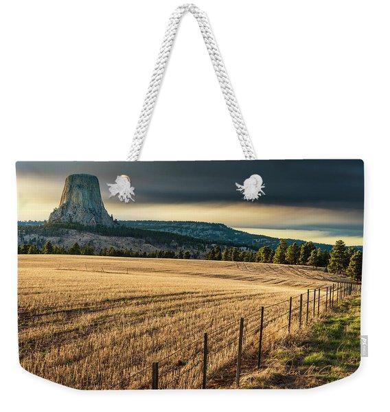 Devil's Field Weekender Tote Bag