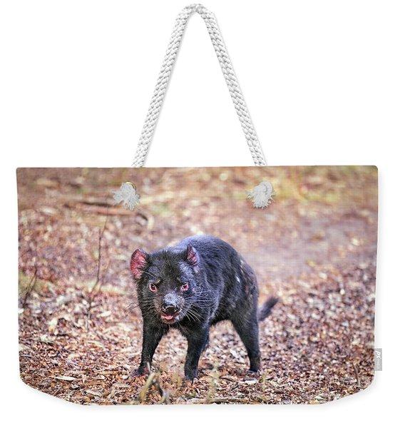 Devil's Ground Weekender Tote Bag