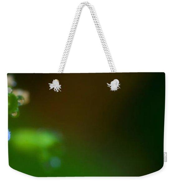 Dewy Blossom  Weekender Tote Bag