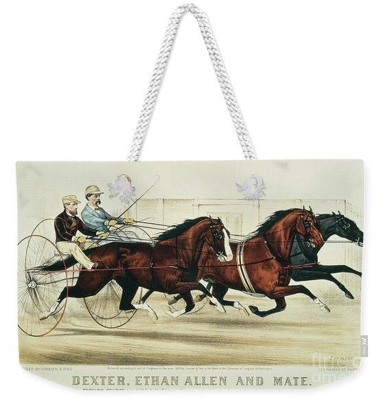 Dexter, Ethan Allen And Mate Weekender Tote Bag