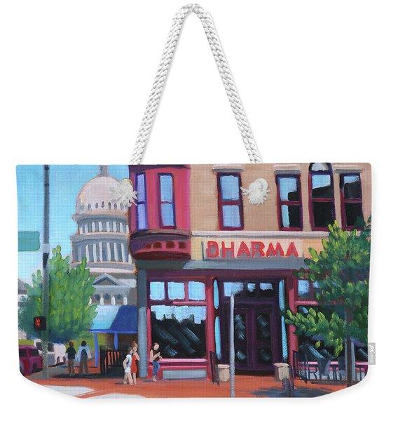 Dharma Building - Boise Weekender Tote Bag