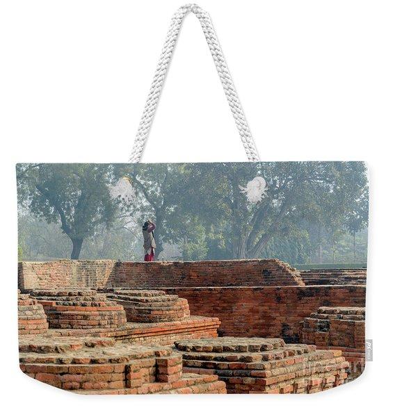 Dharma Chakra Jinavihara 02 Weekender Tote Bag