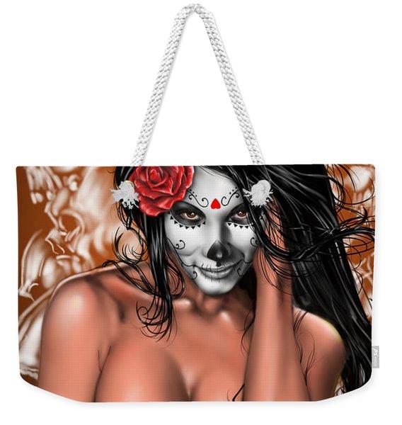Dia De Los Muertos Remix Weekender Tote Bag