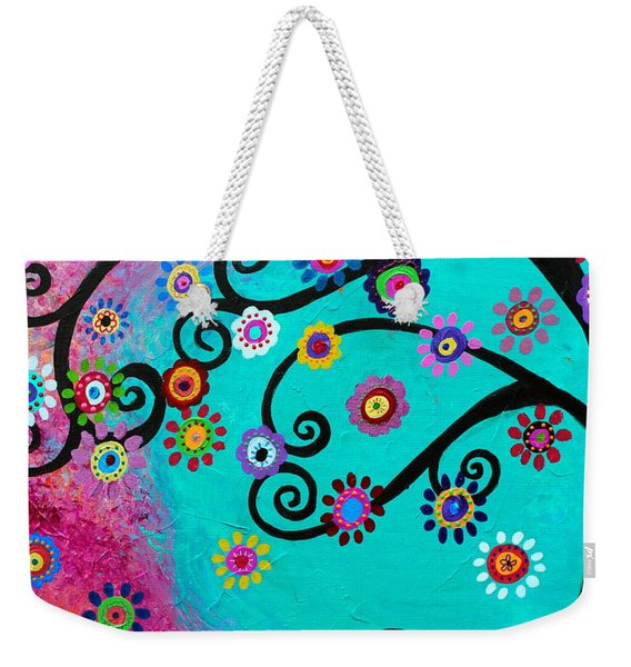 Dia  De Los Muertos Special Couple Weekender Tote Bag