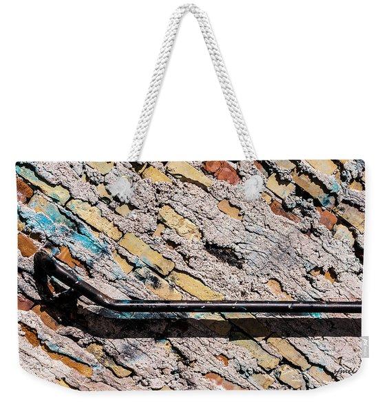 Diagonal Approach Weekender Tote Bag