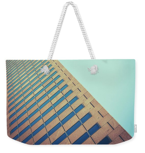 Diagonal Architecture Abstract Weekender Tote Bag