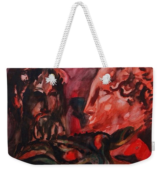 Dialogo Silenzioso Weekender Tote Bag
