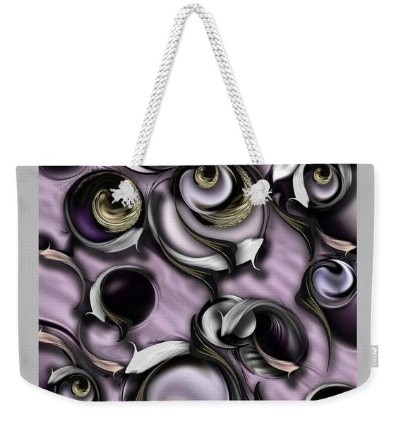 Dialogue With Interfering Reality Weekender Tote Bag