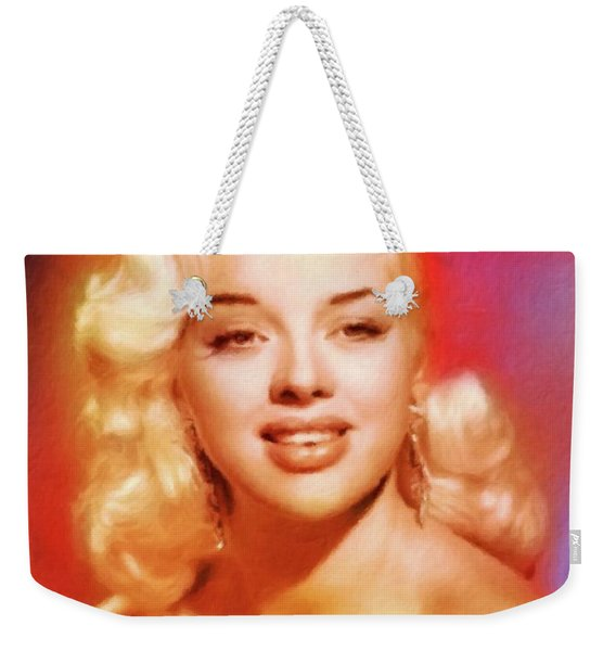 Diana Dors Weekender Tote Bag