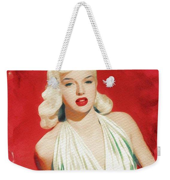 Diana Dors, Movie Legend And Pinup Weekender Tote Bag
