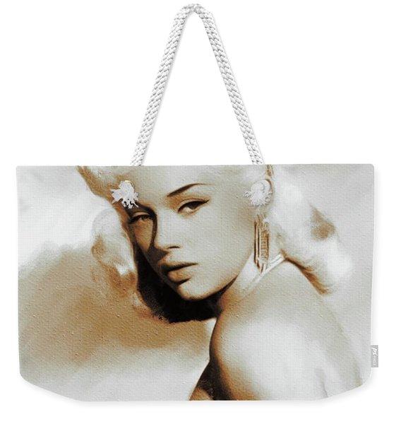 Diana Dors, Movie Legends Weekender Tote Bag