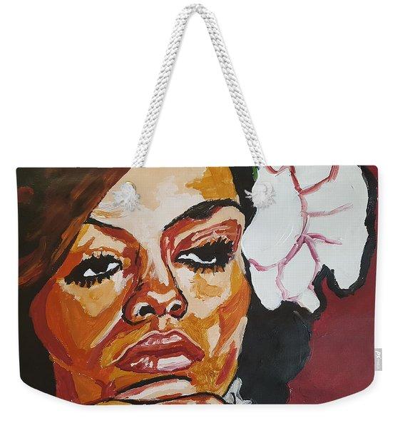 Diana Ross Weekender Tote Bag