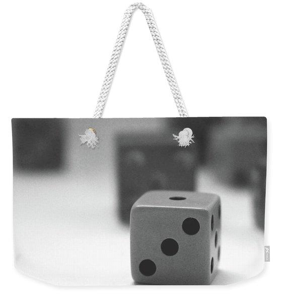 Dice 2- By Linda Woods Weekender Tote Bag