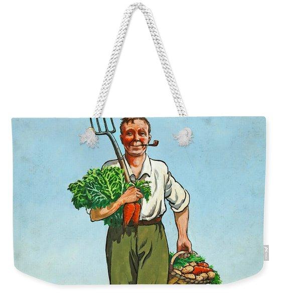 Dig On For Victory Weekender Tote Bag