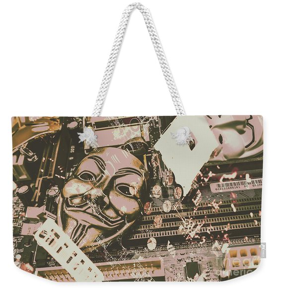 Digital Anonymous Collective Weekender Tote Bag