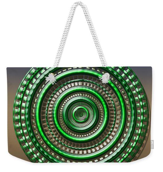 Digital Art Dial 3 Weekender Tote Bag