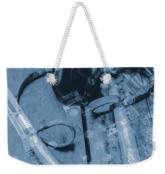 Digital Cyber Attack Weekender Tote Bag