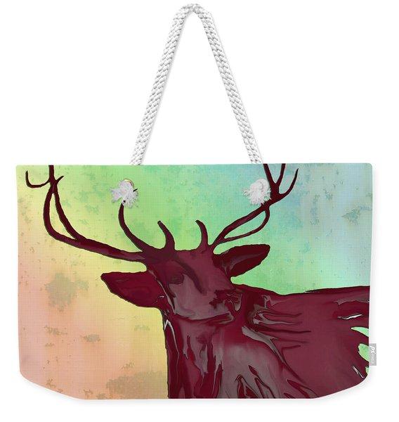 Digital Elk #1 Weekender Tote Bag