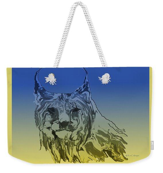 Digital Lynx 2 Weekender Tote Bag