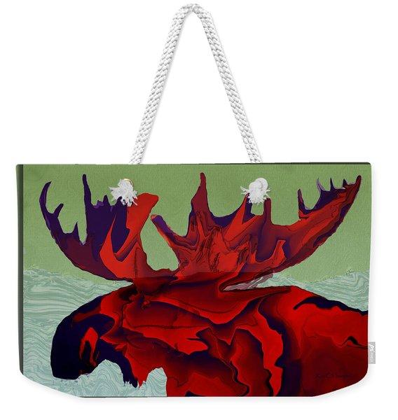 Digital Moose Weekender Tote Bag