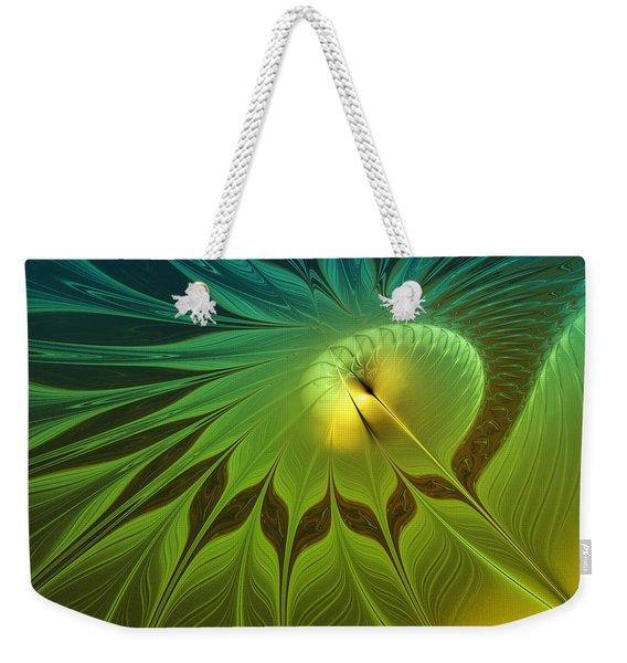 Digital Nature Weekender Tote Bag