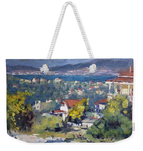 Dilesi Village Athens Weekender Tote Bag