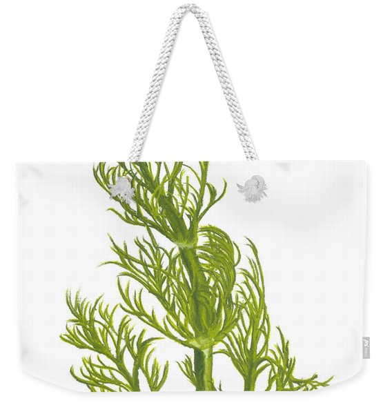 Dill Plant Weekender Tote Bag