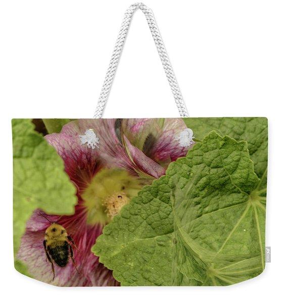 Dimensions Of Bees_flowers Weekender Tote Bag