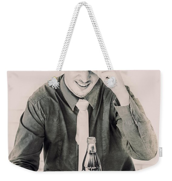 Diner Tips Weekender Tote Bag