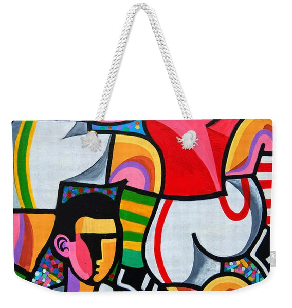 Dingle Wallart Weekender Tote Bag